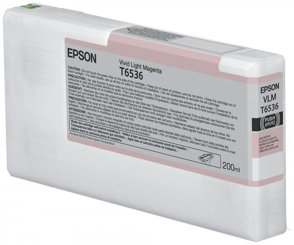 Epson Tinte C13T653600 T6536 Hell Magenta 200 ml 1 Stück